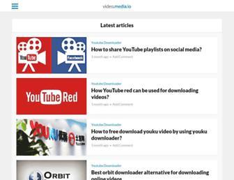 video.media.io screenshot