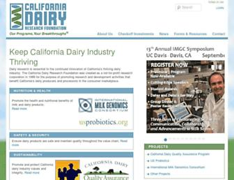 Main page screenshot of cdrf.org