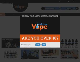 makemyvape.co.uk screenshot
