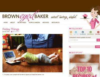 Thumbshot of Browneyedbaker.com