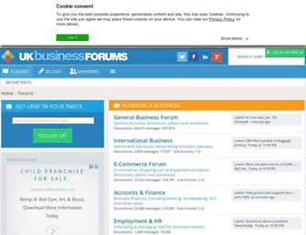 Thumbshot of Ukbusinessforums.co.uk