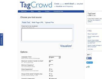 Thumbshot of Tagcrowd.com