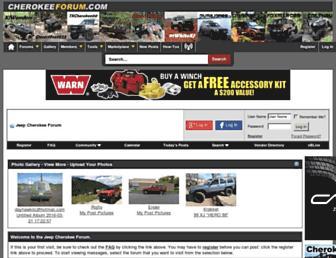 Thumbshot of Cherokeeforum.com