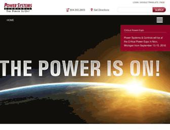 pscpower.com screenshot