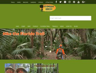 floridahikes.com screenshot