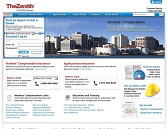 thezenith.com screenshot