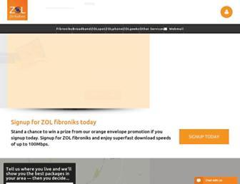zol.co.zw screenshot