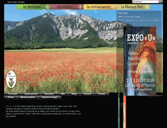 parc-du-vercors.fr screenshot