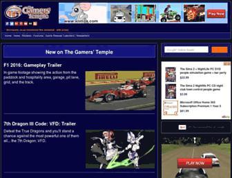 gamerstemple.com screenshot