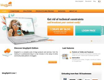 Thumbshot of Blogspirit.com