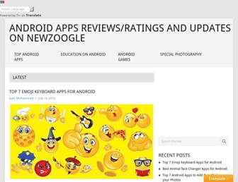 newzoogle.com screenshot