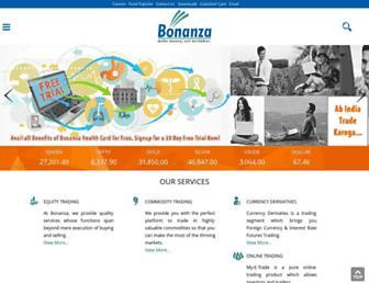 bonanzaonline.com screenshot