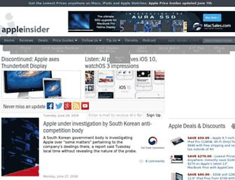 appleinsider.com screenshot