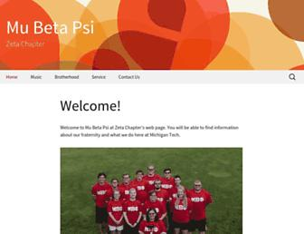 Main page screenshot of zeta.mubetapsi.org