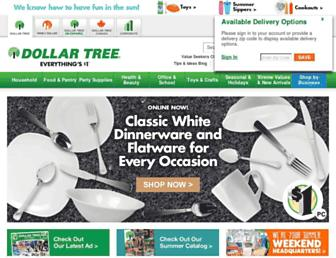 Thumbshot of Dollartree.com
