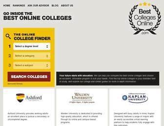Thumbshot of Bestcollegesonline.com