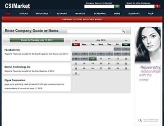 csimarket.com screenshot