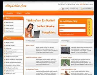 aktifsohbet.com screenshot