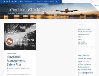 travel-industry-blog.com screenshot