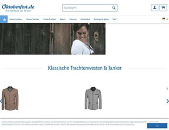 Main page screenshot of wiesn.de