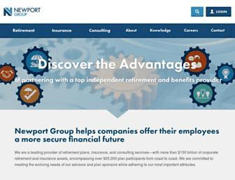 newportgroup.com screenshot