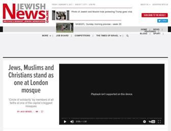 jewishnews.timesofisrael.com screenshot