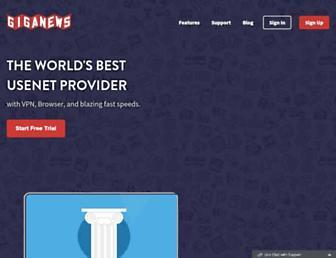 giganews.com screenshot