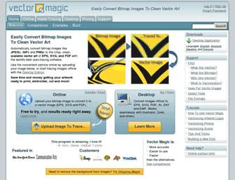 Thumbshot of Vectormagic.com