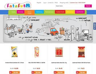 fatafut.in screenshot