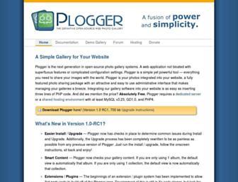 Thumbshot of Plogger.org