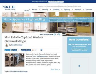blog.yaleappliance.com screenshot