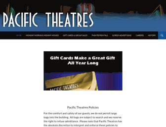 pacifictheatres.com screenshot