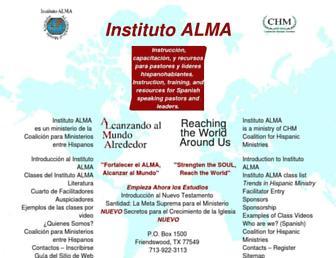 Thumbshot of Institutoalma.org