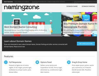 Thumbshot of Namingzone.com