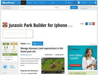 jurassic-park-builder.en.softonic.com screenshot