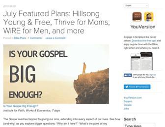 blog.youversion.com screenshot