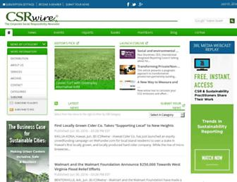 csrwire.com screenshot