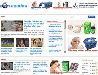 tinbonphuong.com screenshot