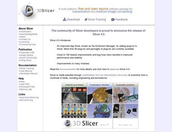slicer.org screenshot