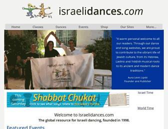 israelidances.com screenshot