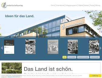 Main page screenshot of lv.de
