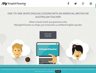myenglishteacher.eu screenshot