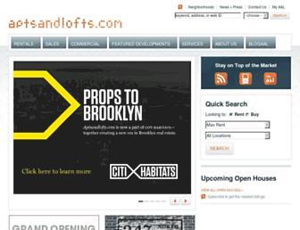 Thumbshot of Aptsandlofts.com