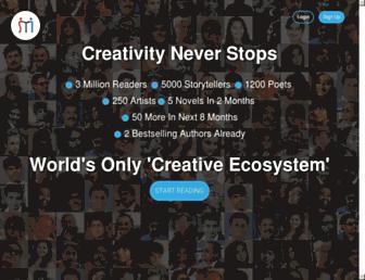 storymirror.com screenshot
