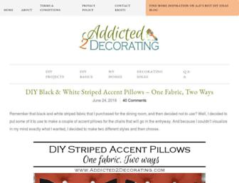 addicted2decorating.com screenshot