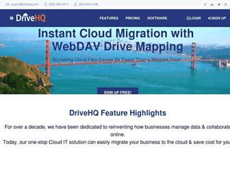 drivehq.com screenshot