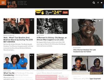 Thumbshot of Yourblackworld.net