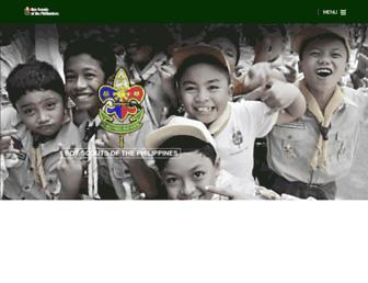 scouts.org.ph screenshot