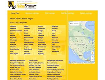 yellowbrowser.com screenshot