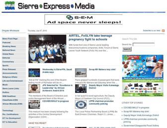 Thumbshot of Sierraexpressmedia.com